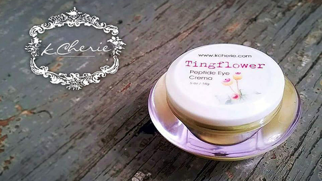Tingflower Peptide Eye Cream from K Cherie!