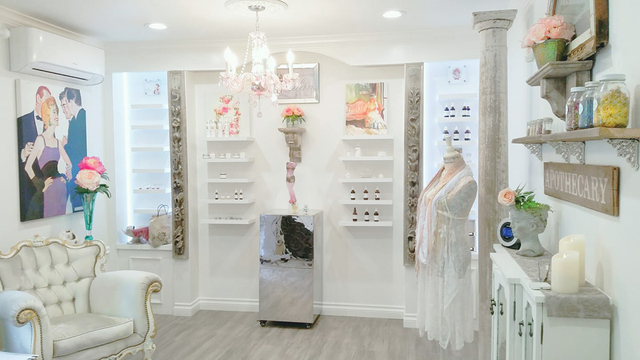 Shop in our beautiful boutique open by appointment!